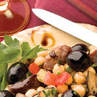 Macedonian Lamb and Chickpeas