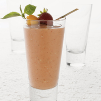 Strawberry Mango Smoothie, Thai Style
