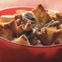 Peanut Butter-Banana Bread Pudding