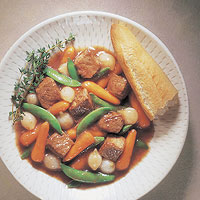 Burgundy Beef & Vegetable Stew