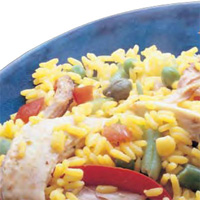 Rice with Chicken, Spanish Style