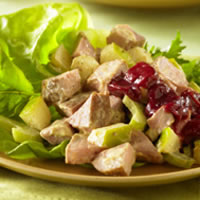 Curried Pork and Apple Salad