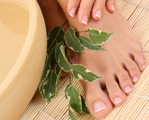 With Diabetes, a Skin Thermometer Makes for Good Foot Care: Main Image