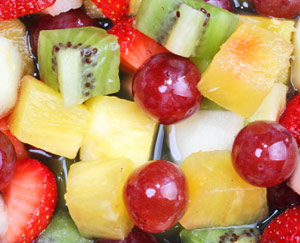 Bowl of Mixed Fruit