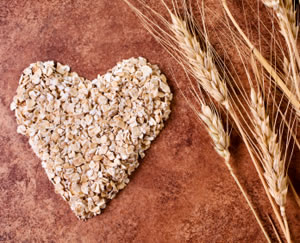 Oats in the Shape of A Heart