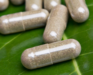 Green Herbal Supplements