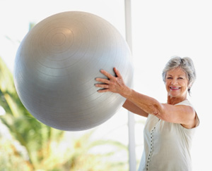 Practice Brings Balance to Women with Bone Disease&#xD;&#xA;: Main Image