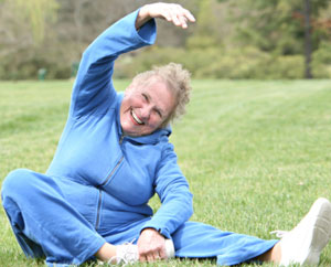 Stretching Is Good for Seniors&#xD;&#xA;: Main Image