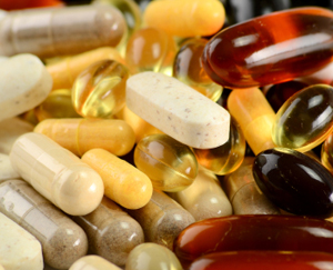 Vitamin Capsules and Supplements