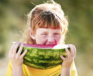 Vegetarian Diet Helps Kids Stay Slim: Main Image