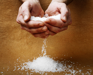 Hands with Salt