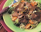 Asian Beef &amp;amp; Broccoli with Noodles