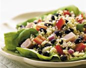 Black Bean, Couscous, and Pepper Salad