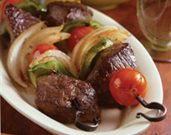 RecipeIndexCallout$master.k.m.us.RDL6000003 Sizzling Sirloin Kabobs on a Bed of Orzo