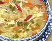 Vegetable Medley Chicken Noodle Soup