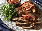 Beef Brisket with Savory Sauteed Apples