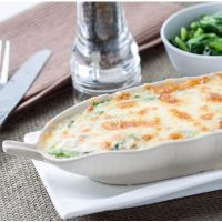 Spinach, Egg, and Herb Gratin: Main Image