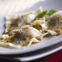 Lamb Ravioli with Hazelnut & Mascarpone: Main Image
