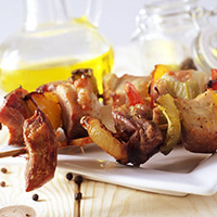 Balsamic-Spiced Lamb Kabobs: Main Image