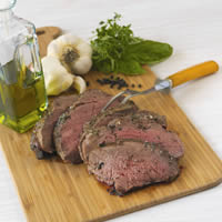 Butterflied Leg of Lamb with Herbs: Main Image