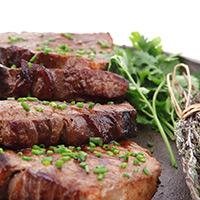 Cumin-Honey Lamb Steak: Main Image