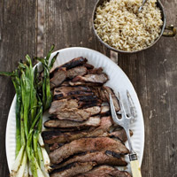 Grilled Butterflied Leg of Lamb: Main Image