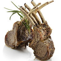 Honey-Glazed Rack of Lamb: Main Image