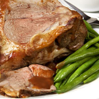 Honey-Baked Leg of Lamb: Main Image