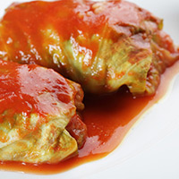 Lamb-Stuffed Cabbage Rolls: Main Image