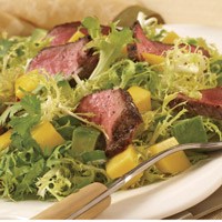 Lamb, Lime, and Mango Salad: Main Image