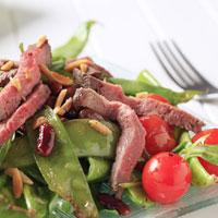 Lamb Satay Salad: Main Image