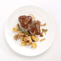 Lamb Chops alla Fiorentina with Crispy Potatoes: Main Image