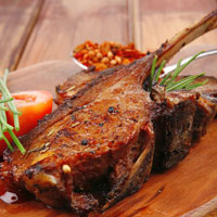 Moroccan Spice-Rubbed Lamb Chops: Main Image