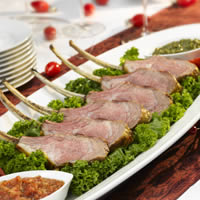 Rack of Lamb with Festive Sauce: Main Image