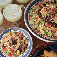 Taco Lamb Salad: Main Image