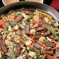 Traditional Lamb Stir-Fry: Main Image