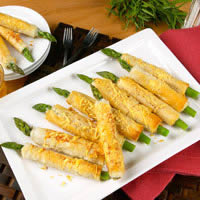 Crispy Asparagus Straws: Main Image