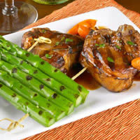 Grilled Rack of Asparagus: Main Image
