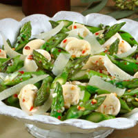 master.k.m.us.Asparagus and Mushroom Salad Gluten Free