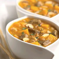 Autumnal Lamb Stew with Red Kuri Squash and Almonds: Main Image