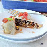Black Bean Cabbage Rolls: Main Image