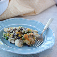 Black Bean and Mixed Rice Casserole: Main Image