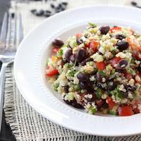 Quinoa and Black Beans: Main Image
