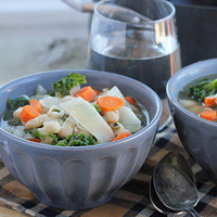 Kale and White Bean Soup: Main Image