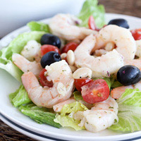Navy Bean Shrimp Salad: Main Image