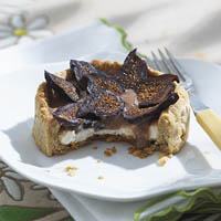 Caramel Fig Tartlets: Main Image