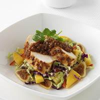 Caribbean Jerk Chicken with California Figs: Main Image