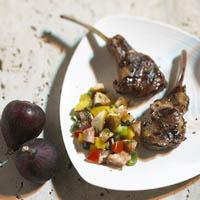 Fresh Fig and Avocado Salsa: Main Image
