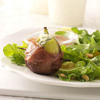 Prosciutto Wrapped Figs and Arugula Salad: Main Image