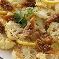 Roasted Cauliflower with Calimyrna Figs and Lemons: Main Image